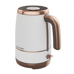 Beko WKM8306W 1.7L Kettle White And Rosegold