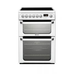 Hotpoint HUE62PS Fan Double Oven Cooker