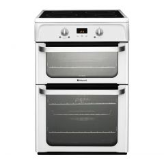 Hotpoint HUI612P Fan D/Oven Induction Cooker