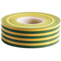 Fairway Electrical T2GY PVC Tape - 20metre 19mm GREEN/YELLOW