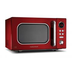 Morphy Richards 511512 23Lt Microwave Red
