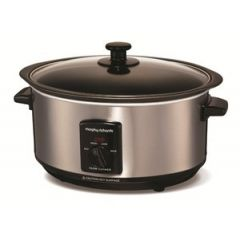 Morphy Richards MR8701 3.5LT SEARING POT AND SLOW COOKER BRUSHED S/S