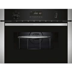 Neff C1AMG83N0B Built In 45Cm Microwave,Oven And Grill