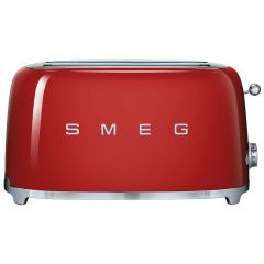 Smeg (Uk) Ltd TSF02RDUK Red 4 Slice Toaster