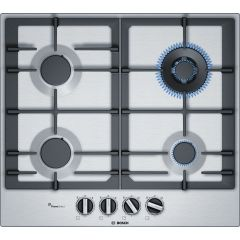 Bosch PCH6A5B90 Gas Hob Stainless Steel