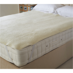 Dreamland DRM16296 Intelliheat Fleece Heated Matress Cover Double