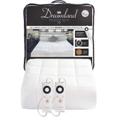 Dreamland DRM16306 Intelliheat Harmony Luxury Heated Mattress Protector