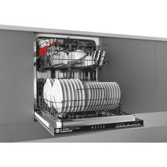Hoover/Candy Group HRIN2L360PB-80 60Cm Intergrated Dishwasher